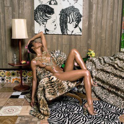 Liz-and-Chair-with-Zebra