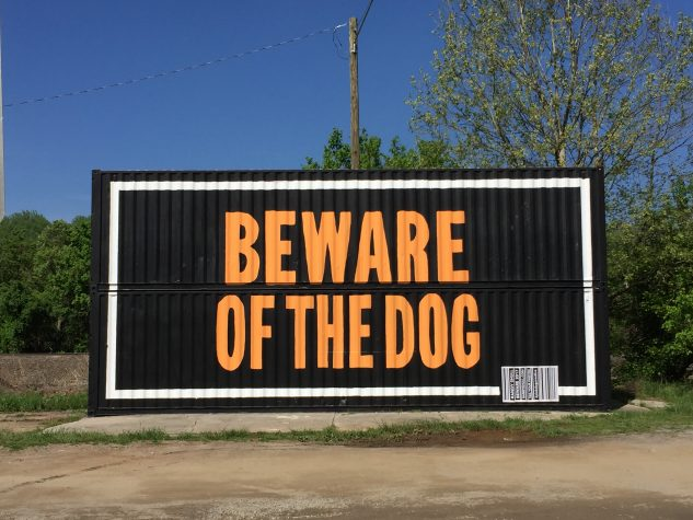 Randy Shull, Beware of the Dog, 2017